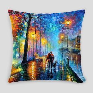Evening Walk Everyday Pillow