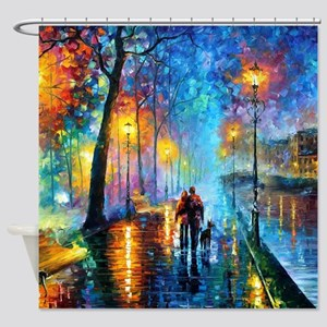Evening Walk Shower Curtain