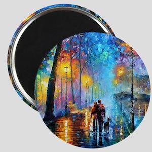 Evening Walk Magnets