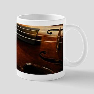 Violin On Music Sheet Mugs