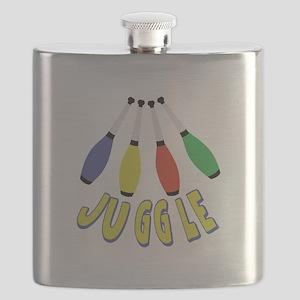 Juggle Clubs Flask