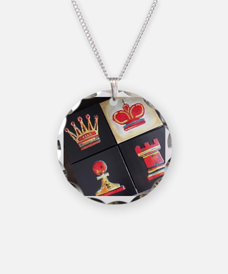 Funny Chess Necklace