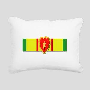 Ribbon - VN - VCM - 25th Rectangular Canvas Pillow