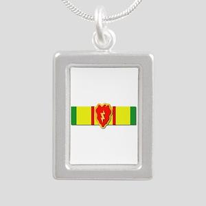 Ribbon - VN - VCM - 25th Silver Portrait Necklace