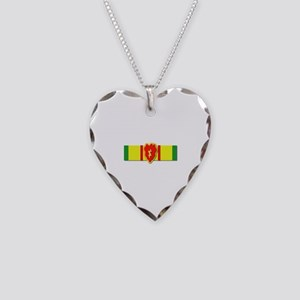Ribbon - VN - VCM - 25th ID Necklace Heart Charm