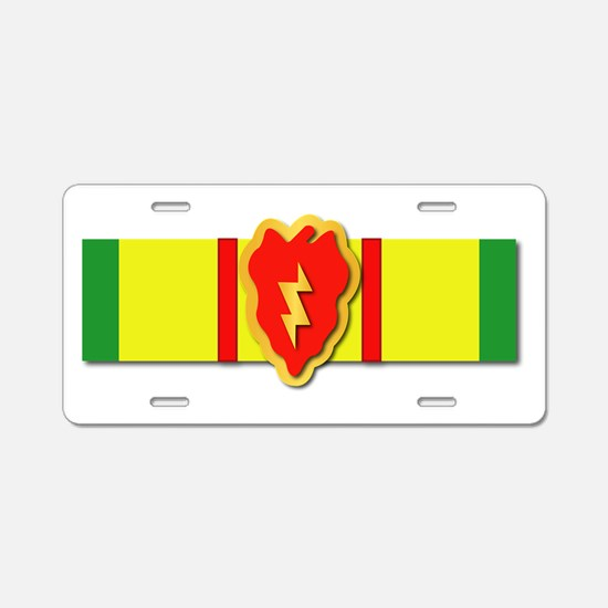 Ribbon - VN - VCM - 25th ID Aluminum License Plate