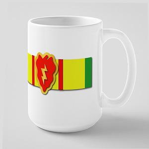 Ribbon - VN - VCM - 25th ID Large Mug