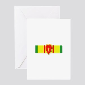 Ribbon - VN - VCM - 25th ID Greeting Card