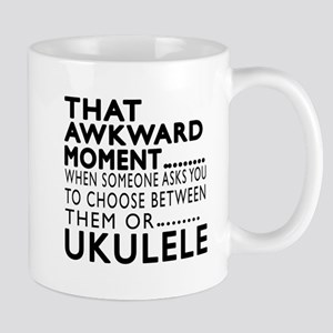 Ukulele Awkward Moment Designs Mug