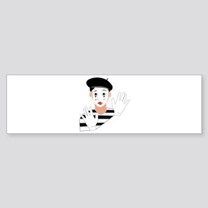 Mime Bumper Sticker