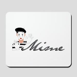 Mime Mousepad