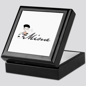 Mime Keepsake Box