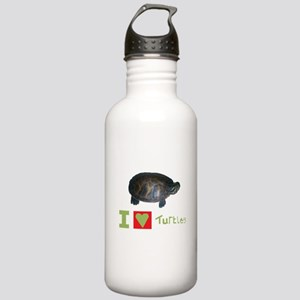 i love turtles Water Bottle