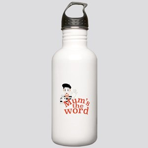 Mums the Word Water Bottle