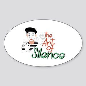 Art of Silence Sticker
