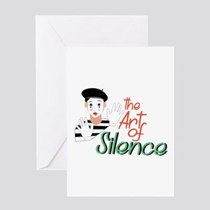 Art of Silence Greeting Cards