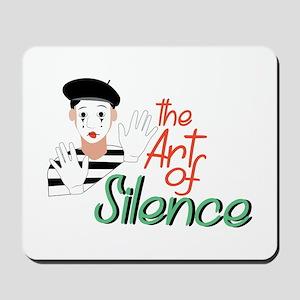 Art of Silence Mousepad