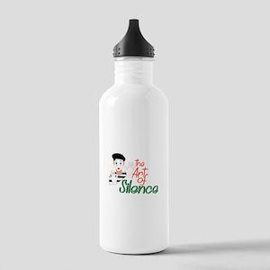Art of Silence Water Bottle