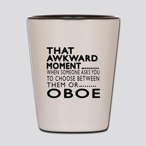Oboe Awkward Moment Designs Shot Glass