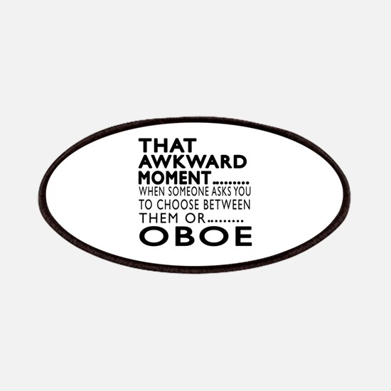 Oboe Awkward Moment Designs Patch