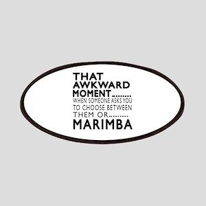 Marimba Awkward Moment Designs Patch