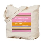 Make Your Path Tote Bag