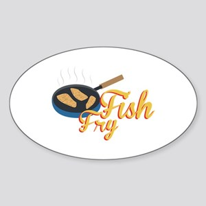 Fish Fry Food Sticker