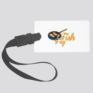 Fish Fry Food Luggage Tag
