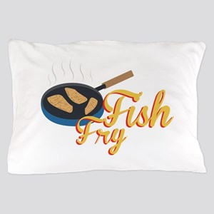 Fish Fry Food Pillow Case