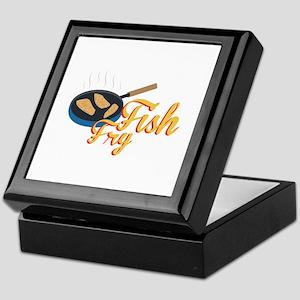 Fish Fry Food Keepsake Box