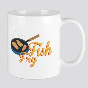 Fish Fry Food Mugs