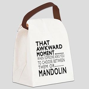 Mandolin Awkward Moment Designs Canvas Lunch Bag