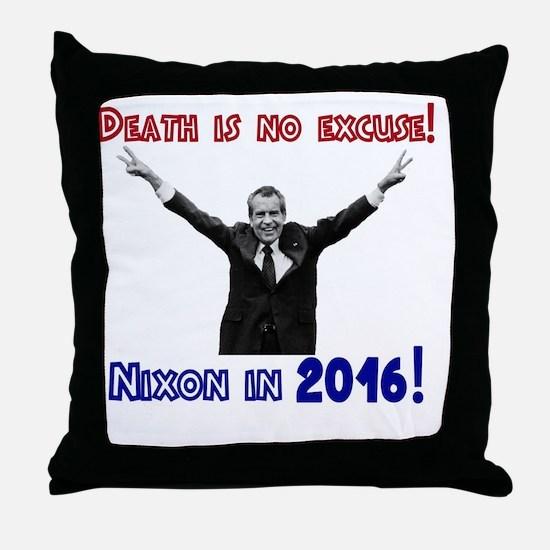 Unique Richard nixon Throw Pillow