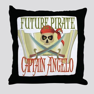 Captain Angelo Throw Pillow