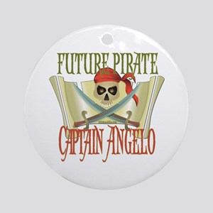 Captain Angelo Ornament (Round)