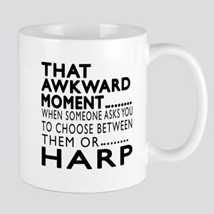 Harp Awkward Moment Designs Mug