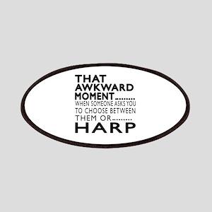 Harp Awkward Moment Designs Patch