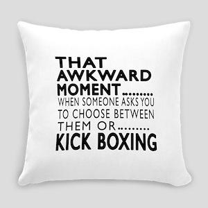 Kick Boxing Awkward Moment Designs Everyday Pillow