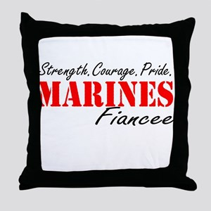 Strength.Courage.Pride Throw Pillow