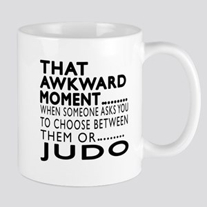 Judo Awkward Moment Designs Mug