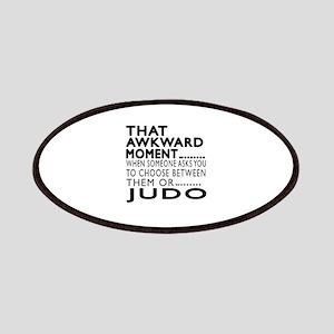 Judo Awkward Moment Designs Patch