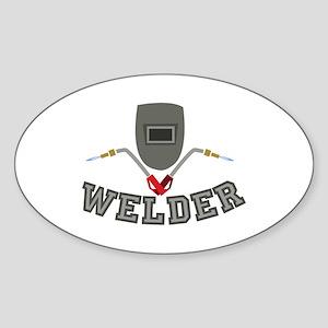 Welder Sticker