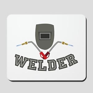Welder Mousepad