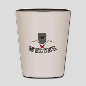Welder Shot Glass