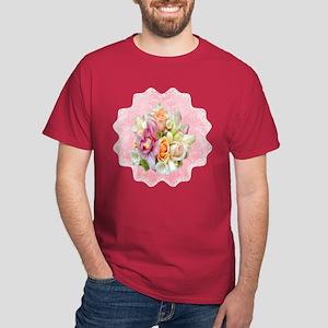 Rose Bouquet Dark T-Shirt