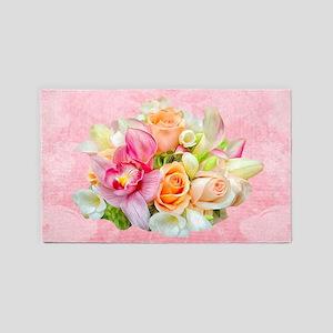 Rose Bouquet Area Rug