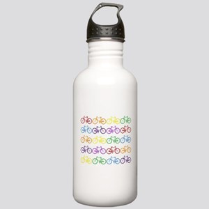 Rack O' Bicycles Stainless Water Bottle 1.0L