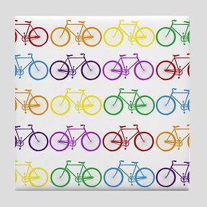 Rack O' Bicycles Tile Coaster