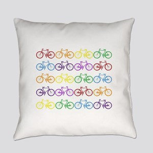 Rack O' Bicycles Everyday Pillow