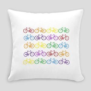 Rack O' Bicycles Everyday Pillow